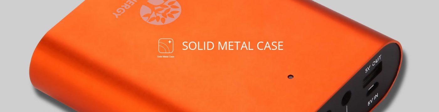 Solid Metal Case